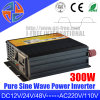 Hecho en China mejor de la venta 300W 220V de onda sinusoidal pura DC 12V AC