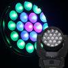 Éclairage principal mobile de l'usine LED RGBW