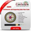 De alle-Diëlektrische Zelfstandige Openlucht Communicatie ADSS Kabel van uitstekende kwaliteit van de Optische Vezel