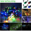 diodo emissor de luz Fairy String Light de 200LEDs 20m Length Solar para Christmas