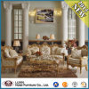 Sofà della mobilia dell'hotel della visualizzazione dello scomparto/insieme di legno del sofà