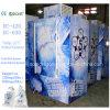 Одиночной положенный в мешки дверью замораживатель льда для крытой и напольной пользы