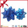 Arqueamiento en el arqueamiento metálico mate de la estrella del tirón de los PP para la decoración del festival, arqueamiento brillante de la estrella, arqueamiento de la estrella azul del brillo de la fuente de la fábrica de China del regalo