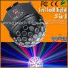 bola grande del disco del partido de la bola de la etapa de 10W LED (SF-512)