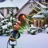 La Navidad que deslumbra la luz de la Navidad al aire libre impermeable ligera