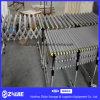 Material Metal telescópica rodillo transportador