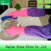 Продавать перчатки домочадца PVC продуктов цветастые