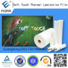 Touch morbido (Velvet) BOPP Thermal Lamination Film per Luxury Packing Box