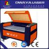 Machine de découpage en cuir en caoutchouc en soie de laser de CO2 du non-métal 50W de tissu