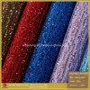 cuero del cordón del brillo de la manera y cuero del brillo para los zapatos (SP012)