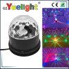Esfera mágica de cristal do mini disco do girassol do diodo emissor de luz
