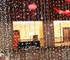 Lumière de rideau en décoration de LED d'intérieur/extérieure pour le festival