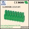 Pluggable разъем терминальных блоков Ll2edgb-3.5/3.81