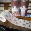 Les Valentines ont estampé le roulis personnalisé par papier de toilette de tissu de salle de bains