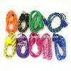 iPhone 4S를 위한 Fabric 다채로운 Nylon USB Cable