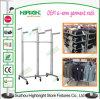Dispositifs pour des crémaillères de vêtement de laminage des métaux de voie du système six de vêtement