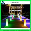 PE 물자 IP66 에너지 절약 RGB LED 정원 말뚝을 바꾸는 16의 색깔