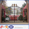 美しいPractical Residential Wrought Iron Gate (dhgate-21)