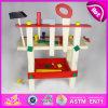 Горячий новый продукт для Wooden 2015 Tool Toy, DIY Wooden Toy Tool Set Toy для Children, Pretend Toy Wooden Tool Toy для Baby W03D012