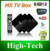 2014最も新しく熱い販売法の二重コア人間の特徴をもつTVボックスMxスマートなGoogle十分に付Xbmc DroidboxのGボックスGbox 5 * Gボックス真夜中TV