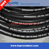 Tuyau en caoutchouc hydraulique à haute pression de tuyau hydraulique