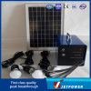 10W C.C Solar Lighting System avec Mobile Charging Function