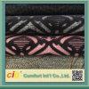 Tissu de panneau de sofa de bande de qualité