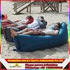 Uの形のRiptop屋外の膨脹可能な浜の空気によって満たされるハンモックのバナナの寝袋