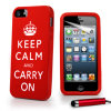Caso Phone Moda Protector Silicone Mobile para iPhone 5