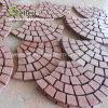 Dayangの赤く自然な石によって一致させる舗装