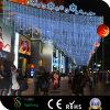 De LEIDENE Verlichting van de Straat zoals het Gesmolten Licht van het Koord van het Ijs Koele Witte