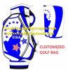 Speciale Kleur die de Unieke Zak van de Theebus van het Golf van de Zak van het Golf van het Personeel van de Vorm mengen