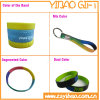 Kundenspezifisches Silicone Wristband mit Metal Key Ring (YB-SW-32)