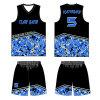 Basquetebol Sublimated equipe personalizado Jersey para meninos e meninas