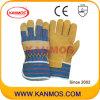 Handschoenen van het Werk van het Leer van het Varken van de Bedrijfsveiligheid de Gespleten (21001)