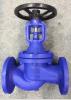 Le fer de bas-de-ligne DIN beugle le robinet d'arrêt sphérique/soupape d'arrêt (WJ41H-16)