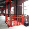 Levage vertical d'ascenseur de plate-forme/cargaison de levage de longeron de guide de /Hydraulic de levage de mur de pierres sèches