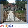 Cancello su ordinazione della strada privata del ferro saldato