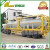 BPW 3 차축 공기 현탁액 난방 장치 가연 광물 트럭