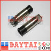 China F Compression CATV Connector für Rg11 Coaxial Cable