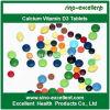 Tablette CAS 67-97-0 de la vitamine D3 de calcium