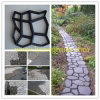 Hot Selling PP Garden Random Floor Tile Stepping Stone Stamping Chemin de cheminement décoratif Pavé Pathmate Moule