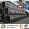 Tubulações espirais de aço pretas da espiral Pipes/Q235B do aço de carbono da pintura GB/T Q235B do revestimento de Tianjin SSAW