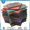 SBR Colorful Rubber Paver Tile/Playground Rubber Tile/Outdoor Rubber Tile