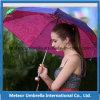 3 раздел Outdoor Compact Mini Sun и Rain Weather Parasol Umbrella с Printing для Promotion Gift Use