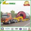 Árboles rotatorios multi 300t que cargan semi el acoplado modular hidráulico