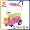 Multi carro do balanço do bebê da função com barra do impulso e dossel para a venda