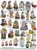 インドのDiwali Poojaのための樹脂インドGod Hindu God Statues