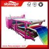 직물 인쇄를 위한 600mmx1900mm 롤 드럼 열전달 기계