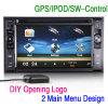 """6.2 de """" USB SD Navi GPS de Autoradio RDS do menu HD DIY no carro"""